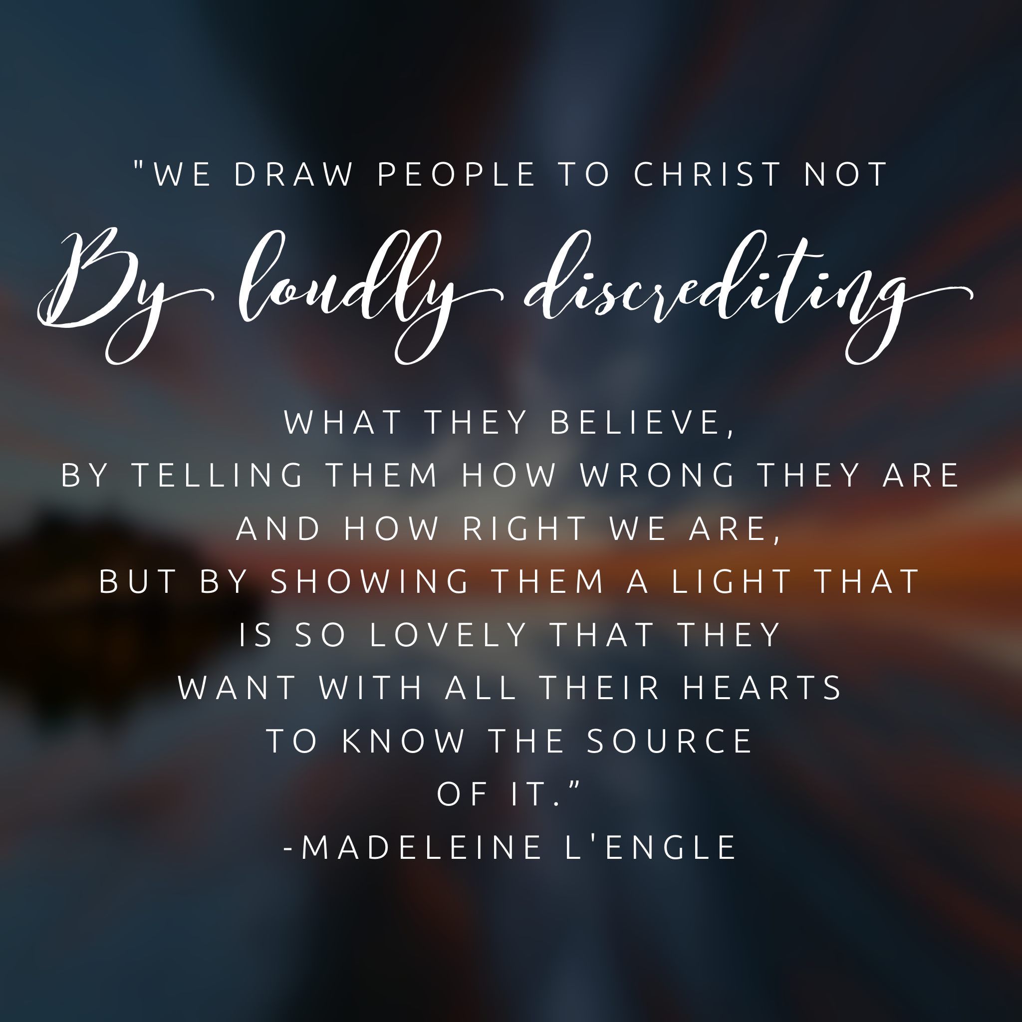 A Light So Lovely, the Spiritual Legacy of Madeleine L'Engle